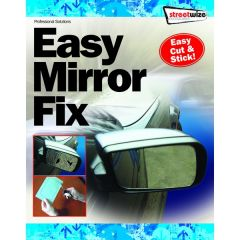 "Acrylic Easy Cut LARGE Size Mirror  25cm-10"" x 17cm -7"" Approx"