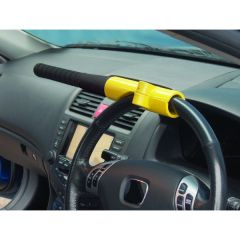 Anti-theft Baseball Bat style steering wheel lock