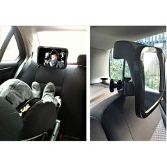Baby/ Child Super-View Safety Mirror Large 29cm x 19cm
