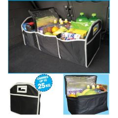 Boot Organiser/ Tidy With Detachable Cooler Bag Mega Size