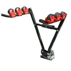Rear 3 Bike/ Cycle Carrier/ Rack Tow-Ball Mounted