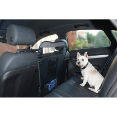 Front Seats Gap Pet Barrier with Pop-Up Wire Frame