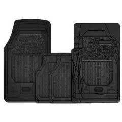 AUDI Tailored Premium Mat Sets Carpet & Rubber 4-pcs