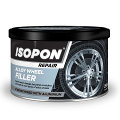 Alloy Wheel Filler 250ml Tin With Aluminium Flakes