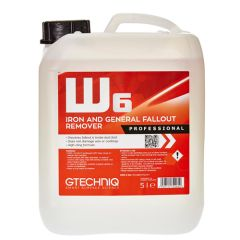 W6 Iron and Fallout Remover 5-Litre